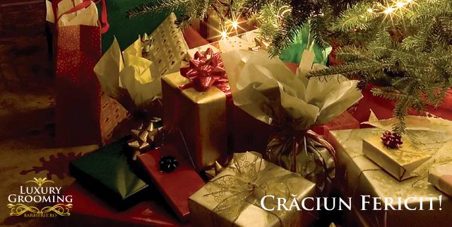 Bucuraţi-vă de cadourile deosebite primite de la Moş Crăciun, alături de familie şi cei dragi!